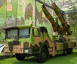 Chinese KS-1 SAM mobile launcher.jpg