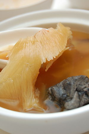 Chinese cuisine-Shark fin soup