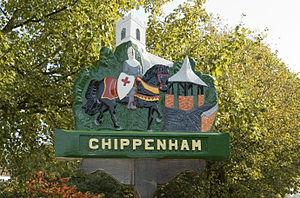 Chippenham, Cambridgeshire - Image: Chippenham Village Sign