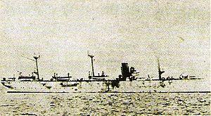 Japanese cruiser Chiyoda - Image: Chiyoda