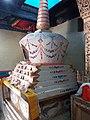 Chorten in Tsemo temple, Leh.jpg