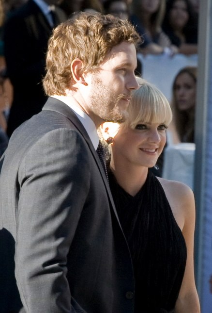 Chris Pratt and Anna Faris (cropped)