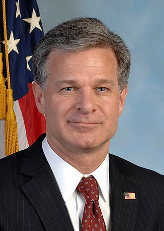 Director of the Federal Bureau of Investigation - Image: Chris Wray official photo (cropped)