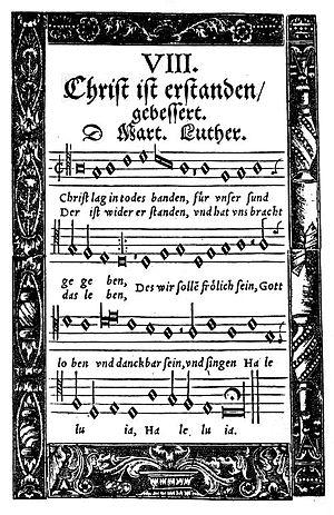 Christ lag in Todesbanden - Hymn in the Babstsche Gesangbuch