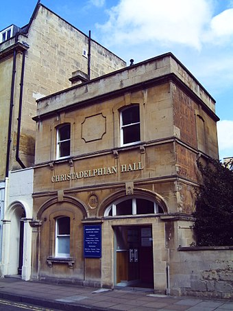 Christadelphian Hall, New King Street Christadelphian Hall (Bath).JPG