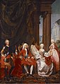 Christian VI with his family by Marcus Tuscher ca 1744.jpg