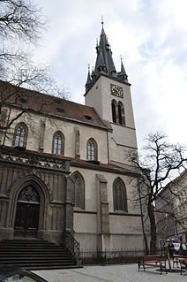 St. Stephens Church, Prague Catholic church in Praque