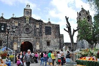 San Andrés Mixquic - Church of San Andres Apostol