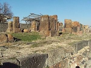 Aghdzk - Image: Church (7c) ruins, Aghdzk, Armenia 2