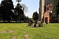Church of St Mary, High Easter, Essex, England - graveyard from south-east.jpg