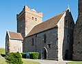 Church of St Mary-in-Castro, Dover Castle from the north-west.jpg