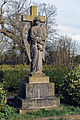 Church of St Mary Hatfield Broad Oak Essex England - south churchyard monument.jpg