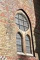 Church of St Peter, Kennington Lane, exterior detaill of window..jpg