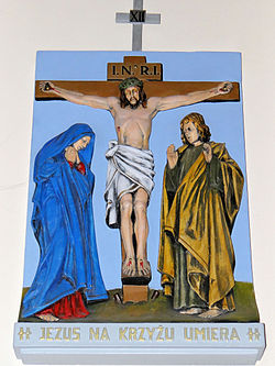 Church of the Assumption of Mary in Kock - Stations of the Cross - 12.jpg