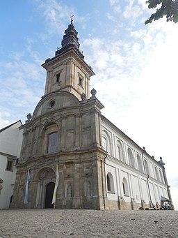 Church on the Saint Cross