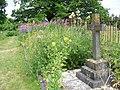 Churchyard colour, St Bartholomew's Church - geograph.org.uk - 2018369.jpg
