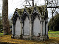 City of London Cemetery - St Dionis Backchurch reburials monument - Newham, London England 2.jpg