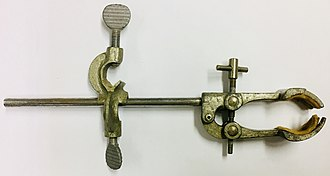 Clamp holder - Image: Clamp holder with utility clamp