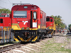 South African Class 21E - No. 21-010 at Koedoespoort, 29 September 2015