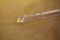 Class 43 on Forder viaduct (9380).jpg