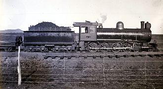 South African type XF tender - Image: Class 8A CSAR 413 SAR 1104