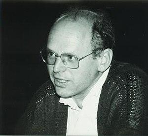 Claus P. Schnorr - C.-P. Schnorr at Oberwolfach, 1986.