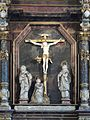 Clausthal-Zellerfeld - Marktkirche - Altar - Kreuzigungsszene 2014-05.jpg