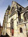 Clermont (60), église Saint-Samson, croisillon sud, vue depuis le sud-est 2.jpg