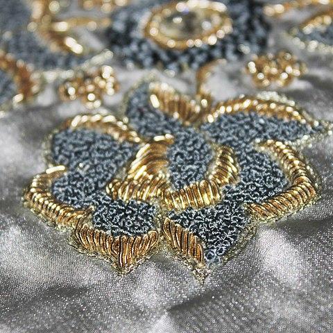 Beading Designs Wedding Dress