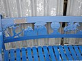 Close up of bench - geograph.org.uk - 494659.jpg
