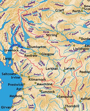 River Clyde - Tributaries of the River Clyde