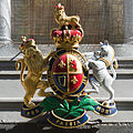 Coat of Arms at Chambers pub in St Helier, Jersey.JPG