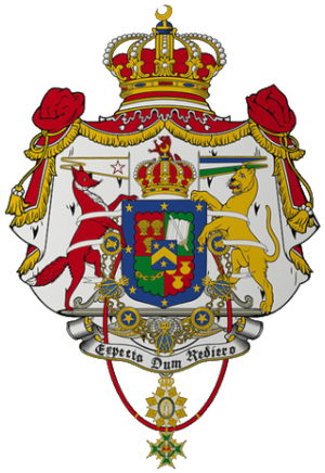 Kingdom of Araucanía and Patagonia - Image: Coat of Arms of Araucania and Patagonia