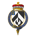 Coat of Arms of Harold Alexander, 1st Viscount Alexander of Tunis, KG, GCB, GCMG, CSI, DSO, MC, PC.png