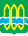 Coat of Arms of Kurovskoye (Moscow oblast) proposal (1990th).png
