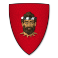 Coat of Arms of MARCHUDD ap CYNAN, of Caernarvonshire and Denbighshire, Lord of Abergellen.png