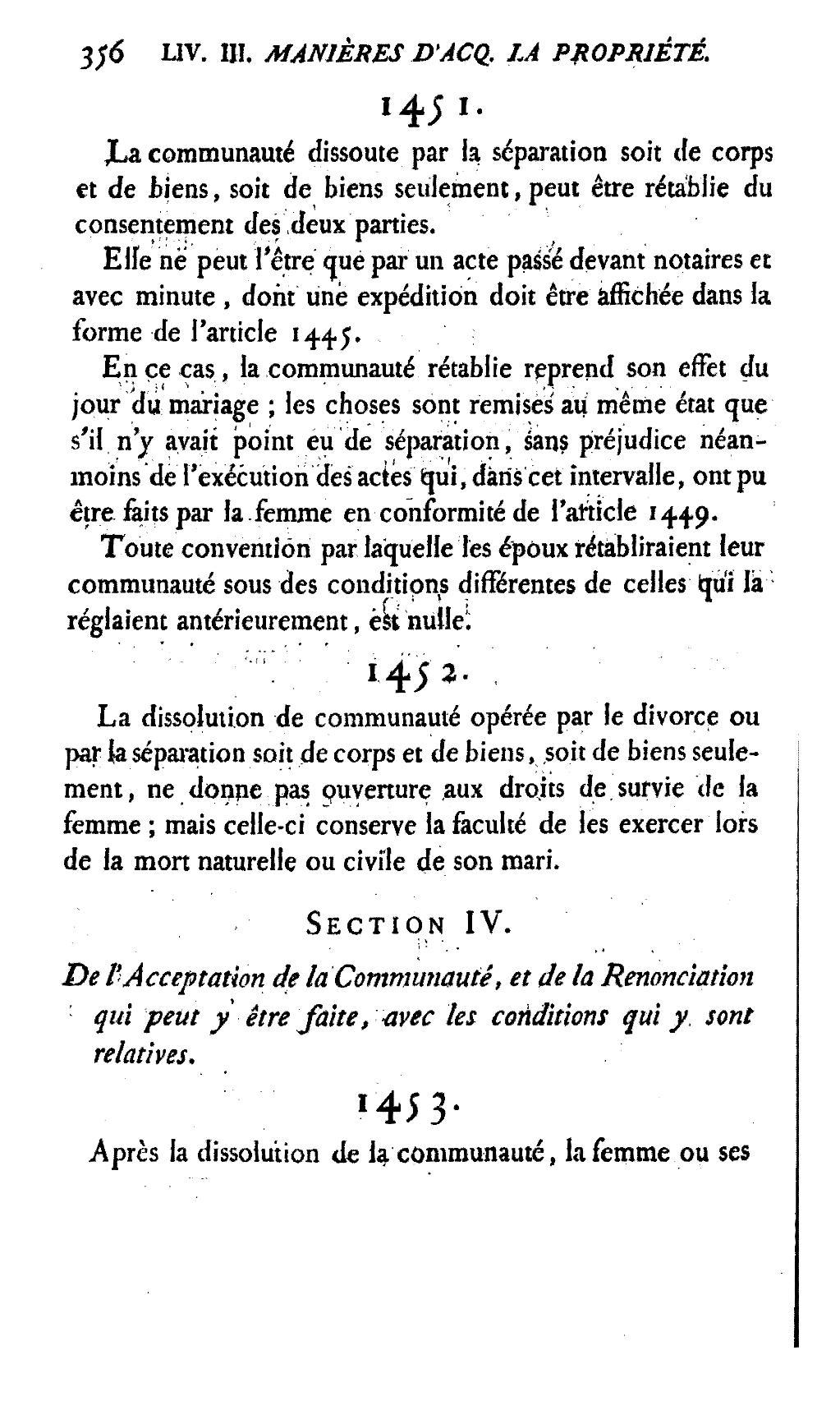 Page Code Civil Des Francais 1804 Djvu 358 Wikisource