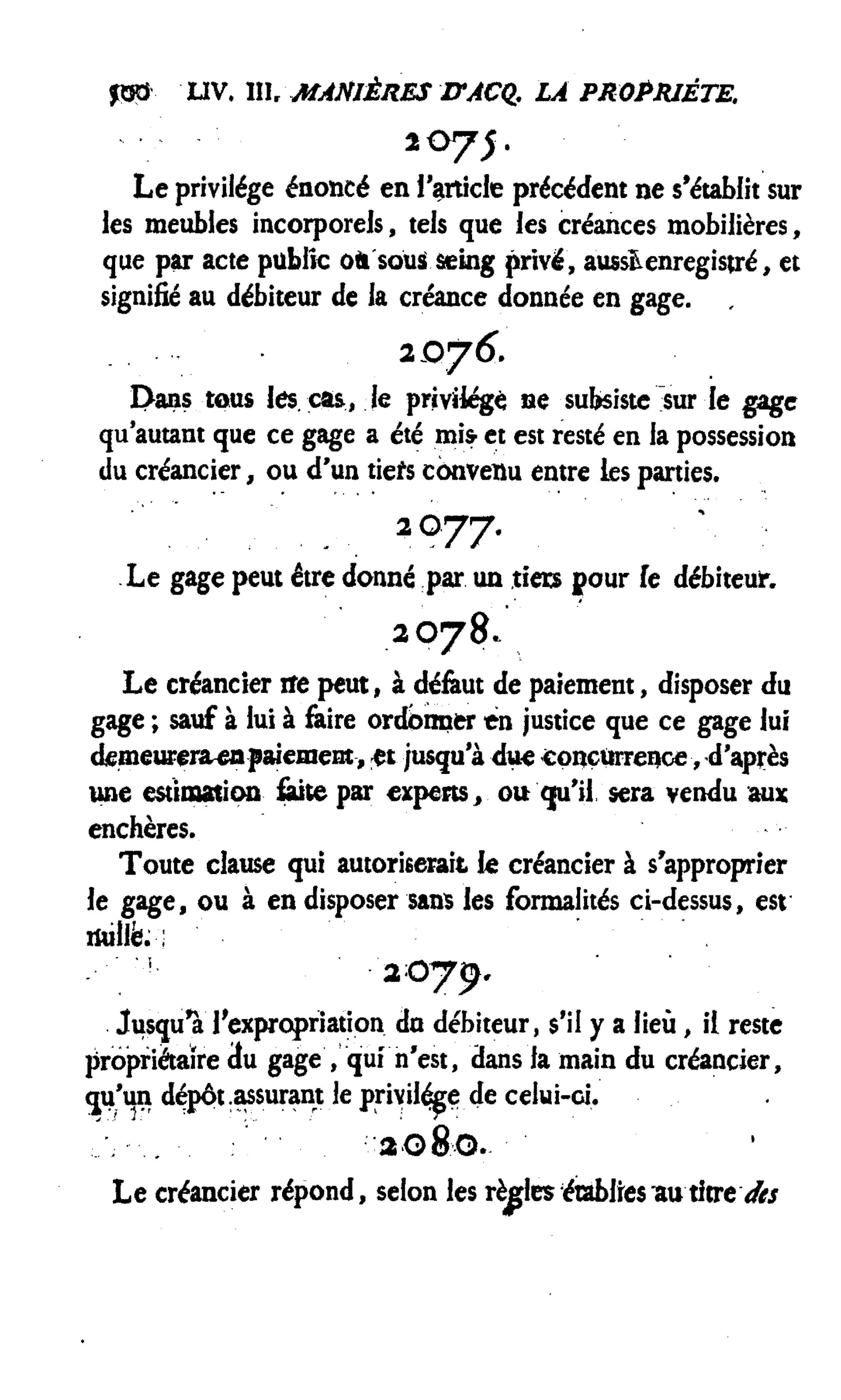 Page Code Civil Des Francais 1804 Djvu 502 Wikisource