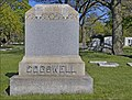 Cogswell Family Marker -- Section 14 Rosehill Cemetery Chicago (IL) April 2012 (7146384535).jpg