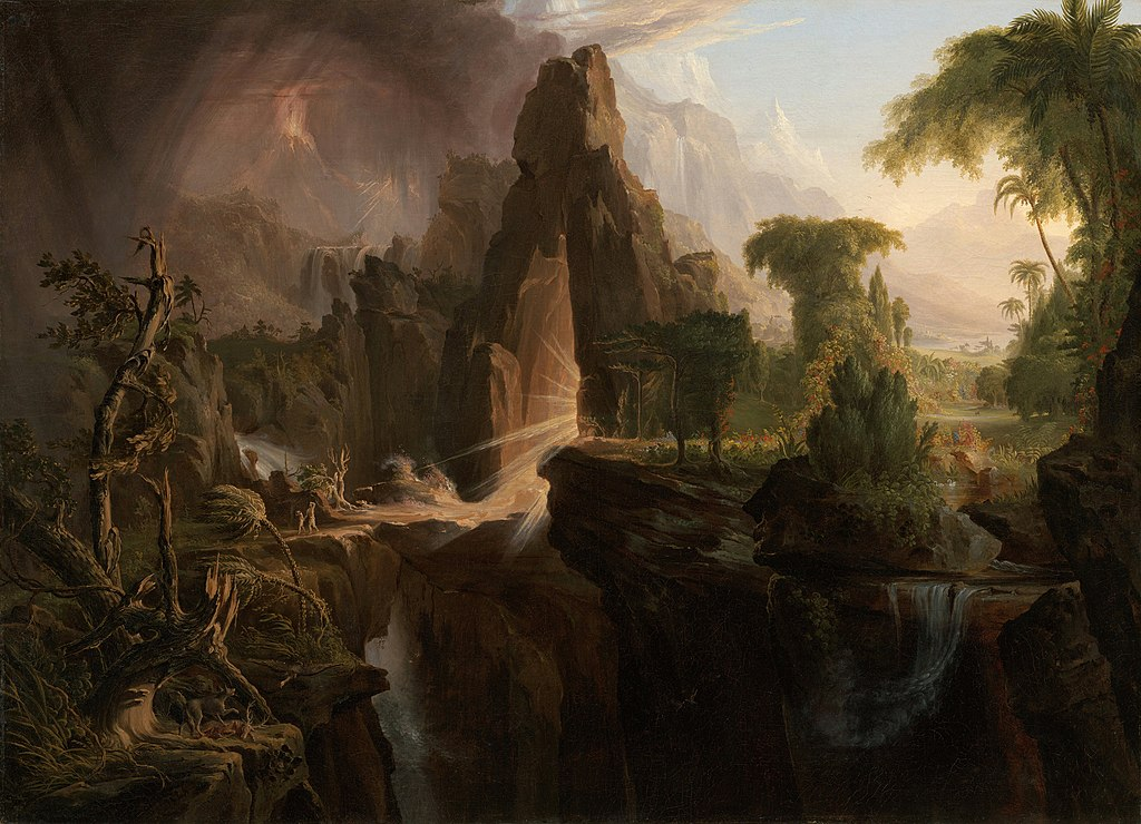 Cole Thomas Expulsion from the Garden of Eden 1828.jpg