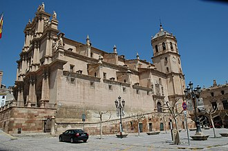 Battle of Los Alporchones - The Church of St. Patrick in Lorca, named thus because of the date the battle was fought on