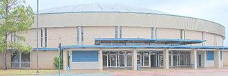 Rapides Parish Coliseum - Image: Coliseum building 600x 200