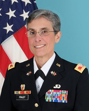 Michelle Fraley - Image: Colonel michelle fraley warrior transition brigade