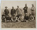 Colonel Theodore Roosevelt with a Group of Rough Riders Recommended for Promotion (15074847808).jpg