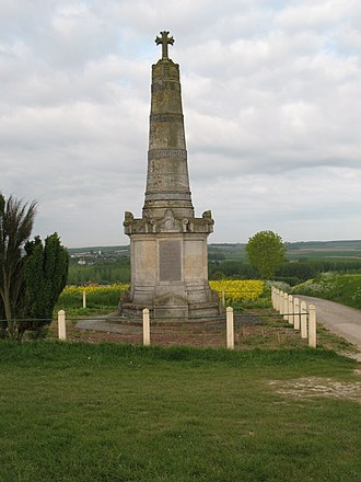 Battle of Hallue - Colonne Faidherbe memorial