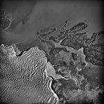 Columbia Glacier, Calving Terminus, Heather Island, August 25, 1969 (GLACIERS 1020).jpg