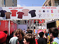Comic-Con 2010 - the Scott Pilgrim vs Comic-Con Experience custom screenprinted t-shirt menu (4875047936).jpg