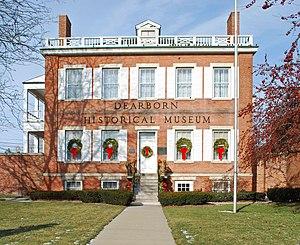 Commandant's Quarters (Dearborn, Michigan) - Image: Commandants Quarters Dearborn