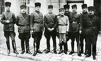 Οι διοικητές του Τουρκικού Στρατού.