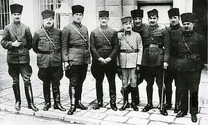 Turkish Land Forces - Image: Commanders of the Turkish War of Independence